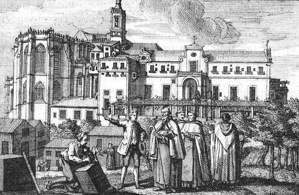 Convento_do_Carmo_em_1745