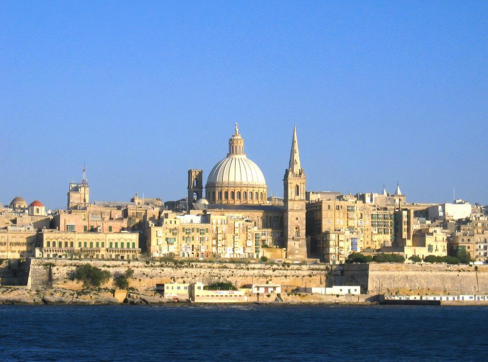 Valletta_skyline